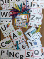 Let's Match - Upper & Lower Case Letters - PARENT PACK