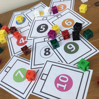 NEW! Colour & Count - Let's Use Cubes