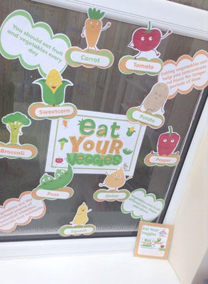 Eat Your Veggies - Display