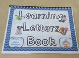 Learn Letters Book - Series - HOMESCHOOL