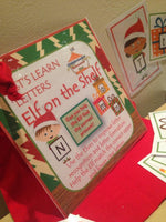 Elf on the Shelf - Let's Learn Letters