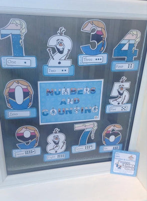 Frozen - Numbers Display