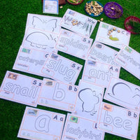 Minibeasts - Let's Create - PARENT PACK