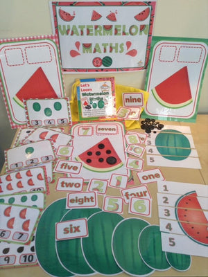 Summer - Watermelon Maths