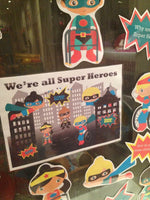 We're all Superheroes (disability) - Display