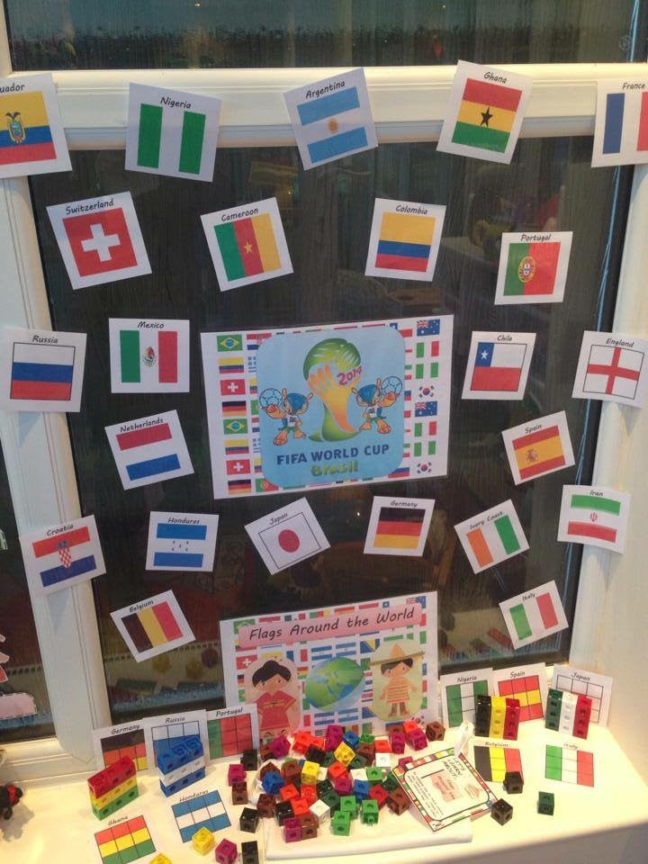 Multicultural - Flags Around the World