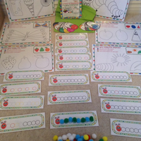 Hungry Caterpillar - Colour & Sequence