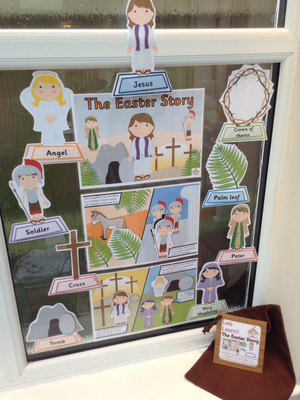 The Easter Story - Display