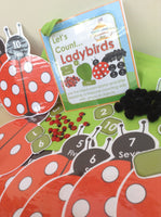 Spring - Ladybird Counting - PARENT PACK