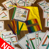 NEW! Let's Learn - Lollipop Sticks - PARENT PACK