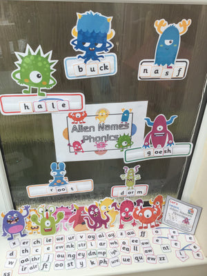 Alien Phonics (Nonsense Words)