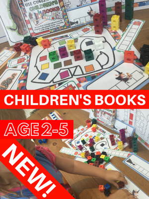 NEW! Stories & Books - Let's Use Cubes - PARENT PACK