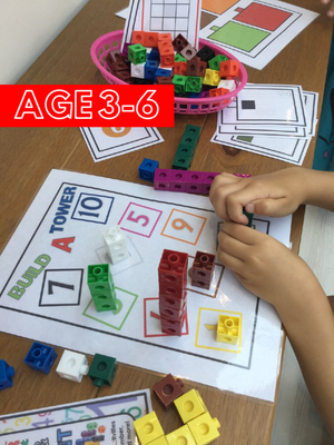 NEW! Colour & Count - Let's Use Cubes - PARENT PACK