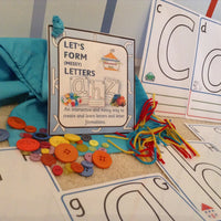 Messy Letters - PARENT PACK