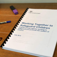NEW! Working Together To Safeguard Children