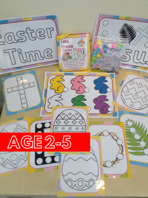 Easter - Create a Picture - PARENT PACK