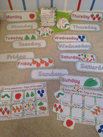 Hungry Caterpillar - Days of the Week