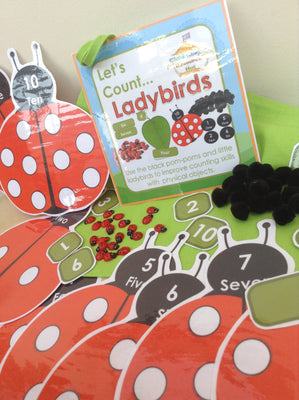 Spring - Ladybird Counting