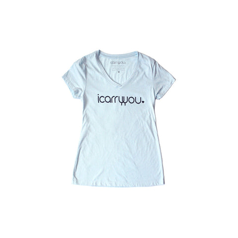 Women's Tshirt - Light Blue - icarryyou