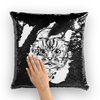 Cat Sketch Magical Hidden Pillow