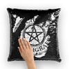 Witchcraft Pendant Magical Hidden Pillow