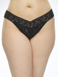 Signature Lace Plus Size Original Rise Thong