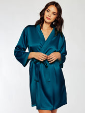 Load image into Gallery viewer, Satin Marina Short Robe