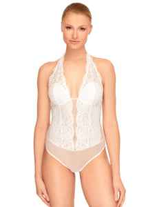 b.tempt'd 936144 Ciao Bella Bodysuit Teddy White