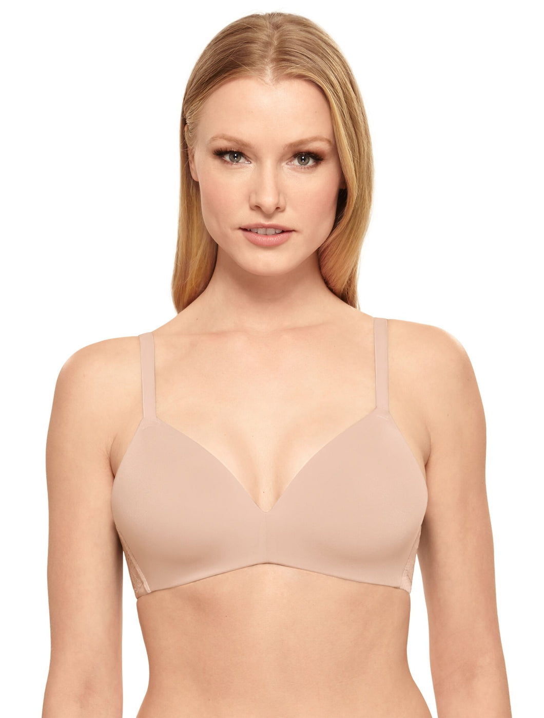 Future Foundation Wire Free T-Shirt Bra with Lace