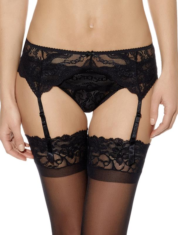 Lace Kiss Garter Belt