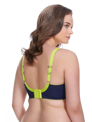 Energise Underwire Sports Bra in Navy