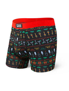 Undercover Men's Boxer Brief in Black Margarita