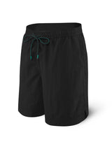 "CannonBall 9"" 2N1 Swim Trunks in Black"