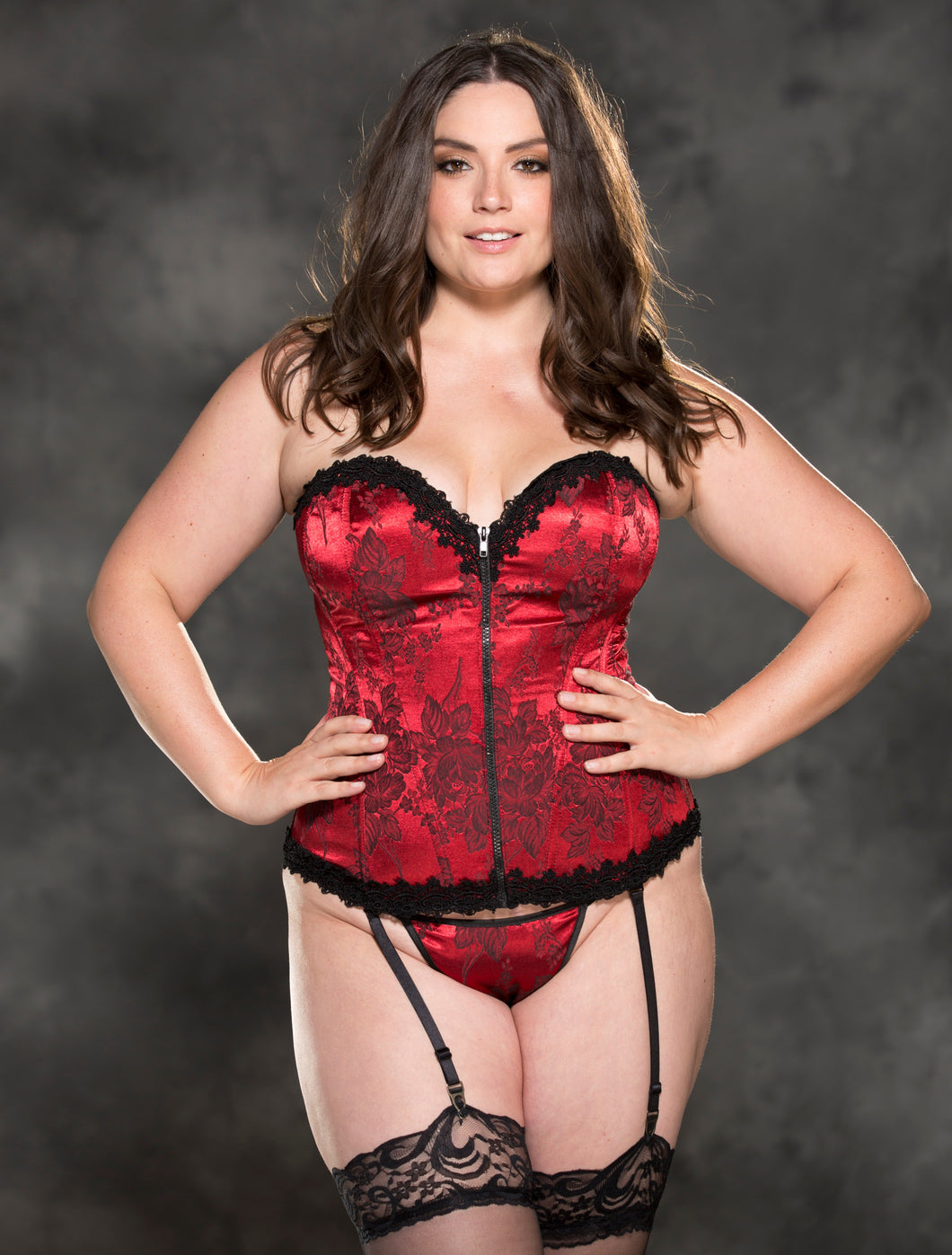 Ultimate Lace Corset in Red