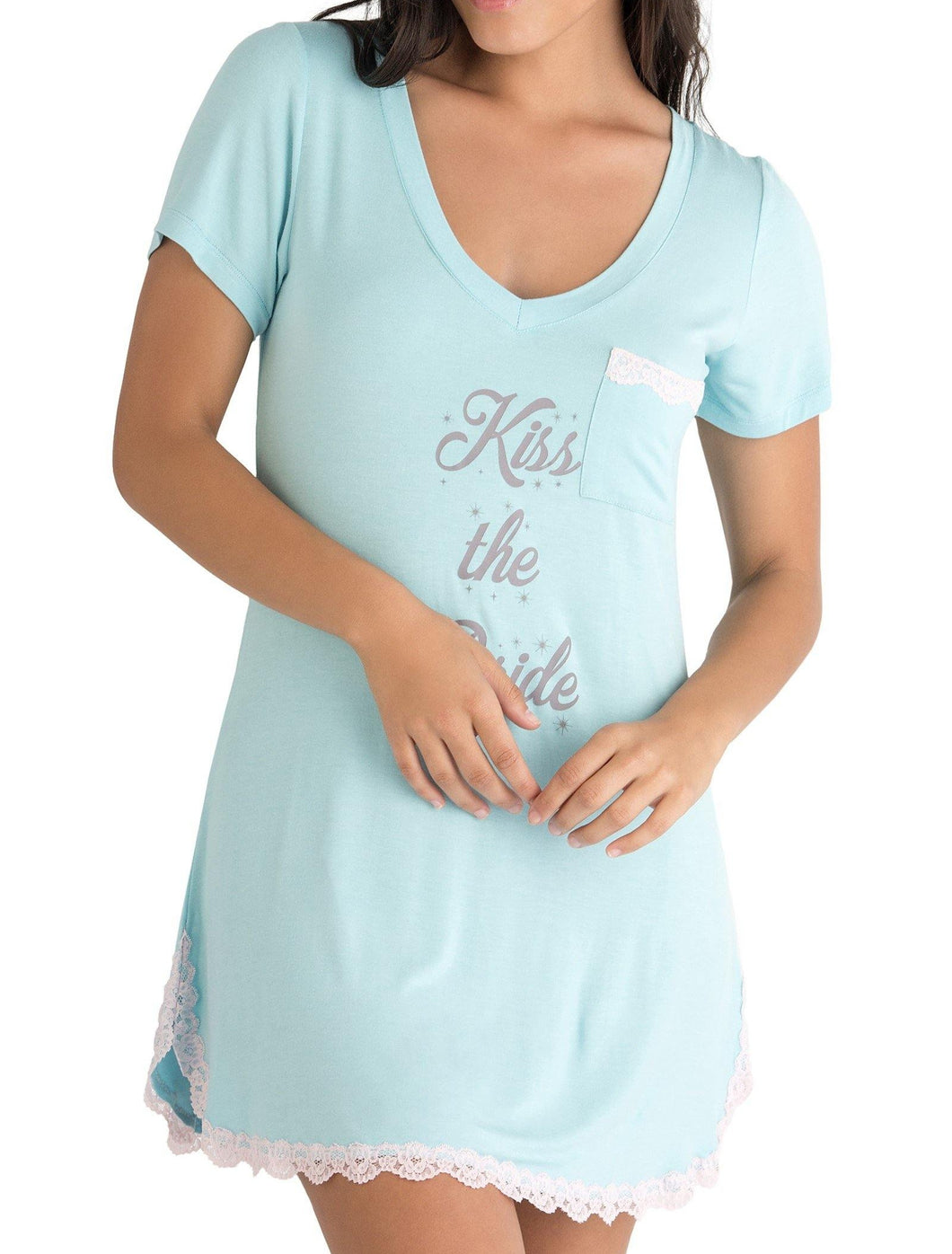 Kiss the Bride All American Sleepshirt