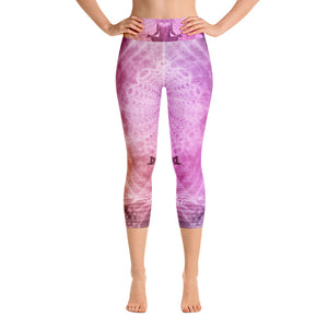 Yoga Capri Leggings - Build your own colorful design with graphics and text - MyLittleStuff