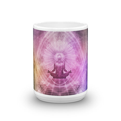 Personalized Yoga Meditation Coffee Mug - MyLittleStuff