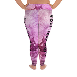 Custom print plus size Yoga Leggings