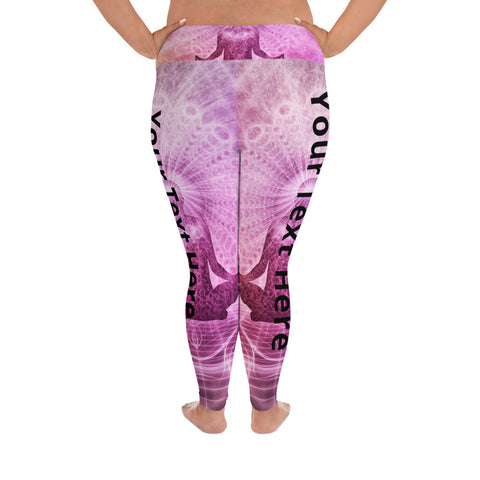 Custom print plus size Yoga Leggings - MyLittleStuff