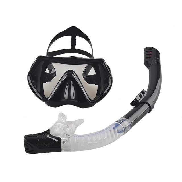 Snorkeling Gear Set Anti-Fog Goggles Glasses Set - MyLittleStuff