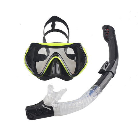 Image of Snorkeling Gear Set Anti-Fog Goggles Glasses Set - MyLittleStuff