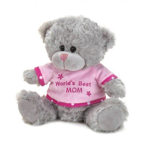 World`s Best Mom Bear Plush