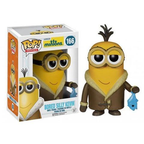 Minions Movie Bored Silly Kevin Pop! Vin