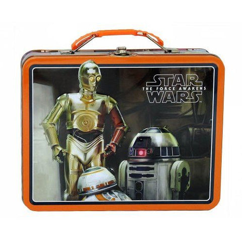 Star Wars Episode Vii Black/orange Tin L