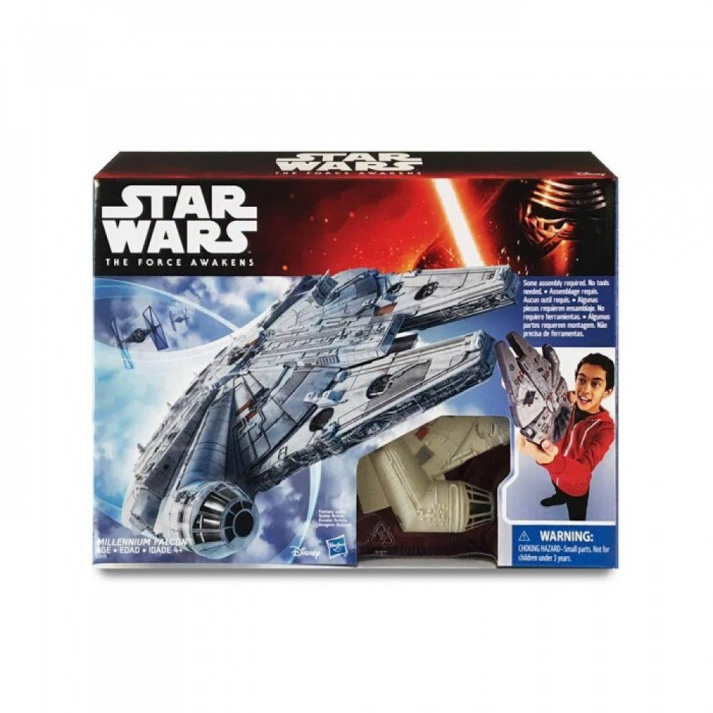 Millennium Falcon Model Toy Space Ship - Shazam Toys