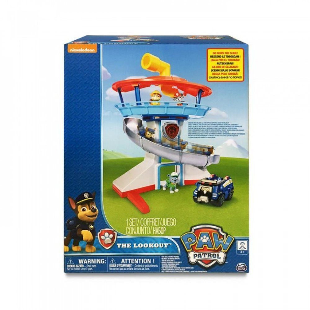 Paw Patrol Lookout Tower - Shazam Toys