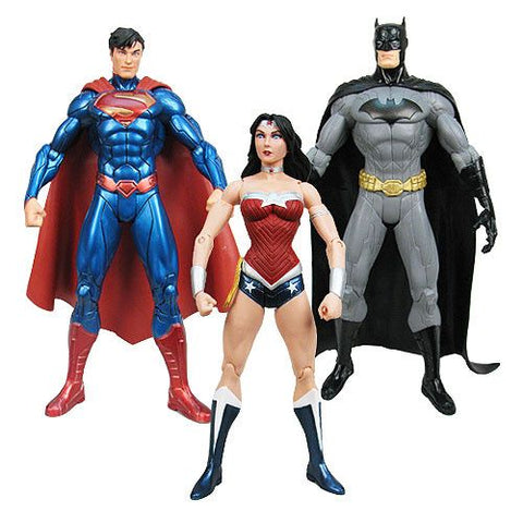 DC Comics New 52 Justice League Action Figure 3-Pack