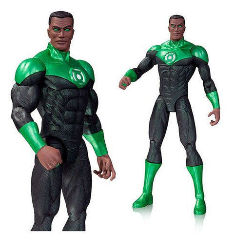 DC Comics New 52 Green Lantern John Stewart Action Figure