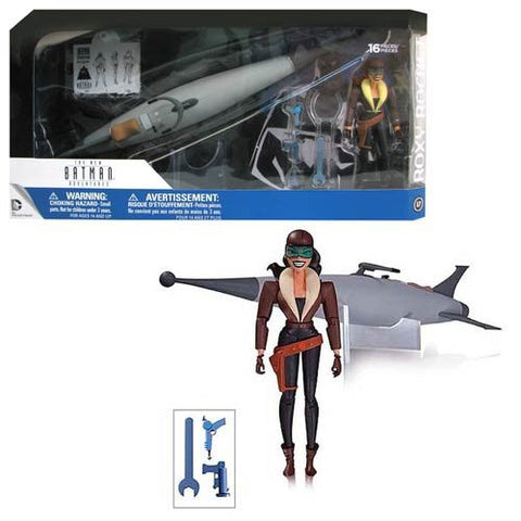 Batman The Animated Series Roxy Rocket Deluxe Action Figure