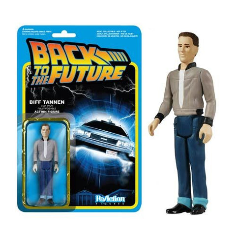 Back to the Future Biff Tannen ReAction 3 3/4-Inch Figure
